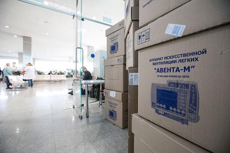 АО «Концерн радиоэлектронные технологии» отгрузило на 255 млн рублей 137 аппаратов искусственной вентиляции легких «Авента-М»