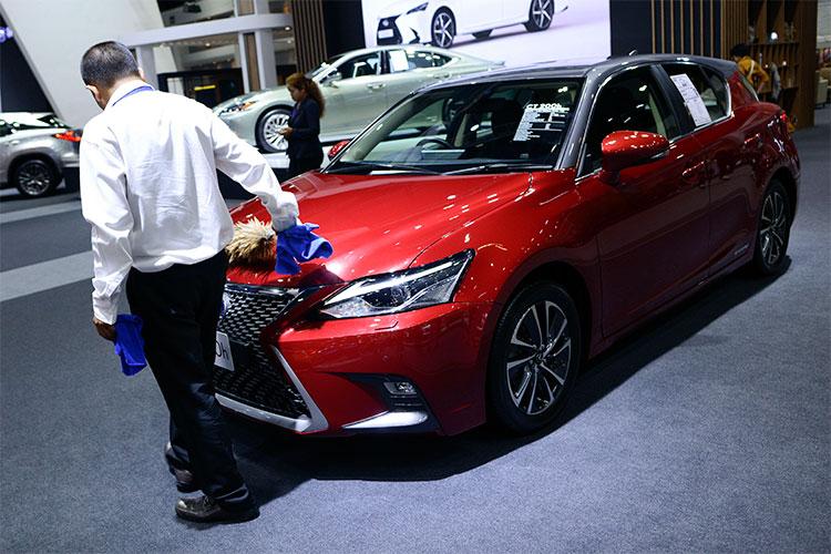 Больше других люксовых марок из первой пятерки Татарстана потерял японский Lexus: минус 23 авто или 3,8% до 586 регистраций