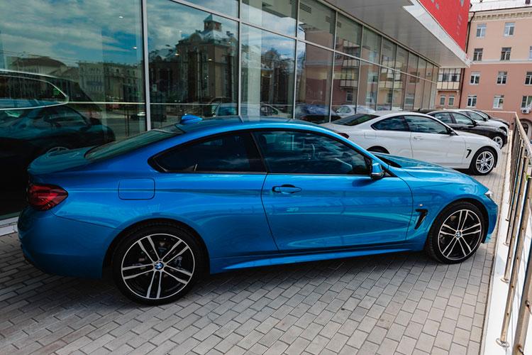 Татарстанский лидер «командного» зачета BMW поддержал честь марки — спрос не его легковушки вырос на 96 голосов или 7,5% до 1368 регистраций