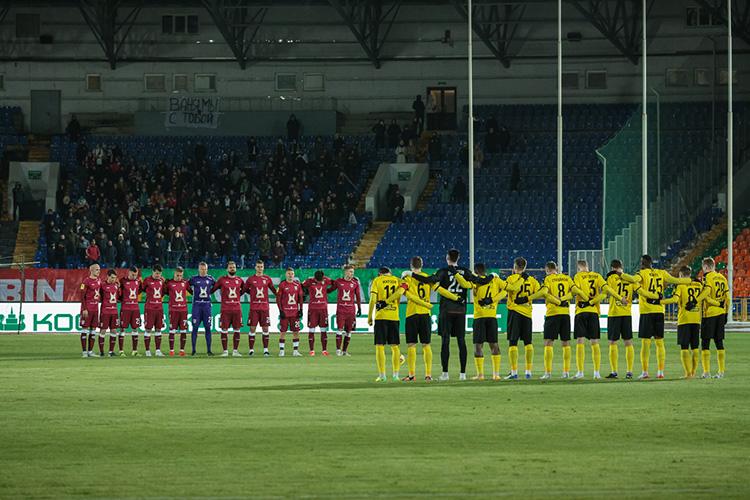 Вдомашнем матче 23-го тура чемпионата России «Рубин» насвоём поле принимал «Химки»