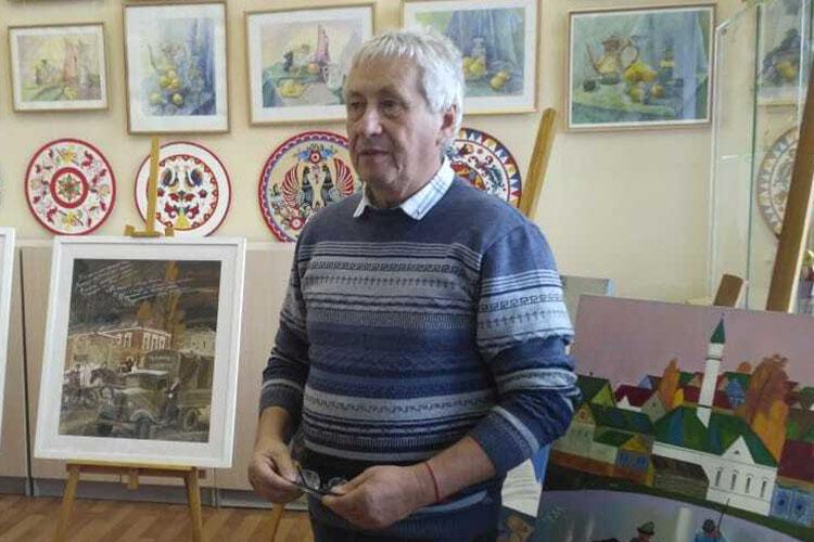 Григорий Эйдиноввыдвинут завыдающийся вклад вискусство графики иоформление книг вРеспублике Татарстан
