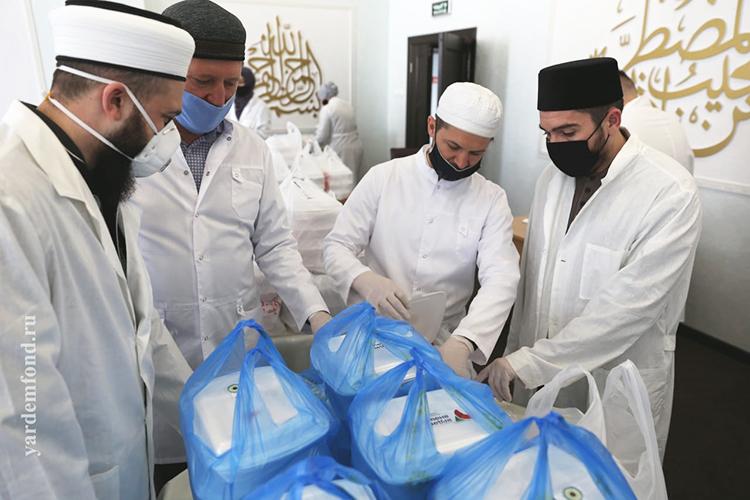 «Рамазан— месяц добрых дел»— гласит девиз мусульман вовремя поста