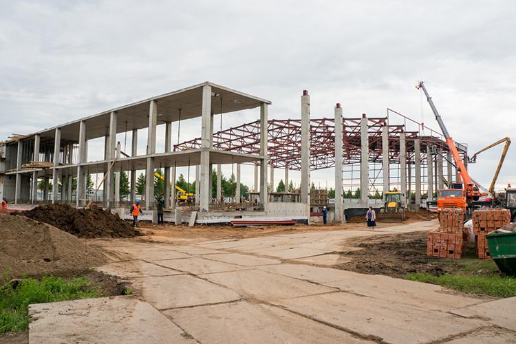 Строительство при такой схеме займёт поменьшей мере два года.Центрвключит всебя шесть круглогодичных площадок разных размеров— так, чтобы вкомплексе могли заниматься одновременно представители разных видов спорта