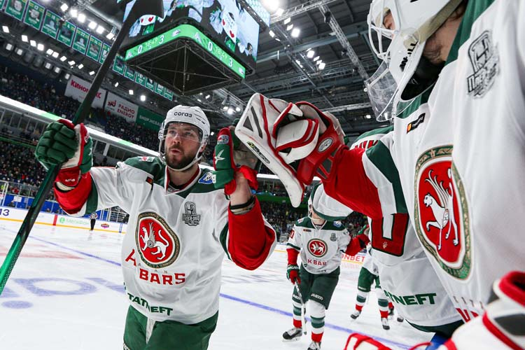 «Ак Барс» обыграл «Салават Юлаев» в четвёртом матче серии (3:2) и вышел в финал Восточной конференции