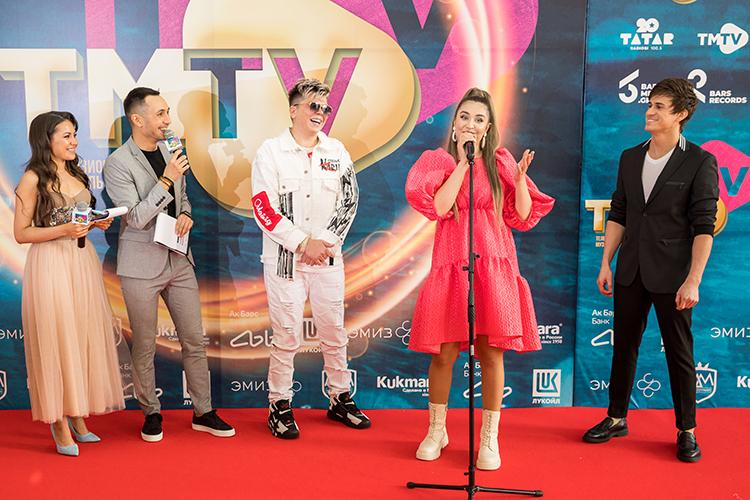 VIежегодная церемония церемонии вручения музыкальной телевизионной премии ТМТVстала посвоемуисторическим событием, покрайней мере для новой сценической площадки на«Казань Экспо»