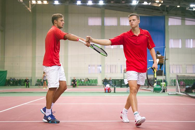 Тимур Киямов и Александр Боборыкин не выступали вместе почти год, но выиграли на первом же турнире после возвращения