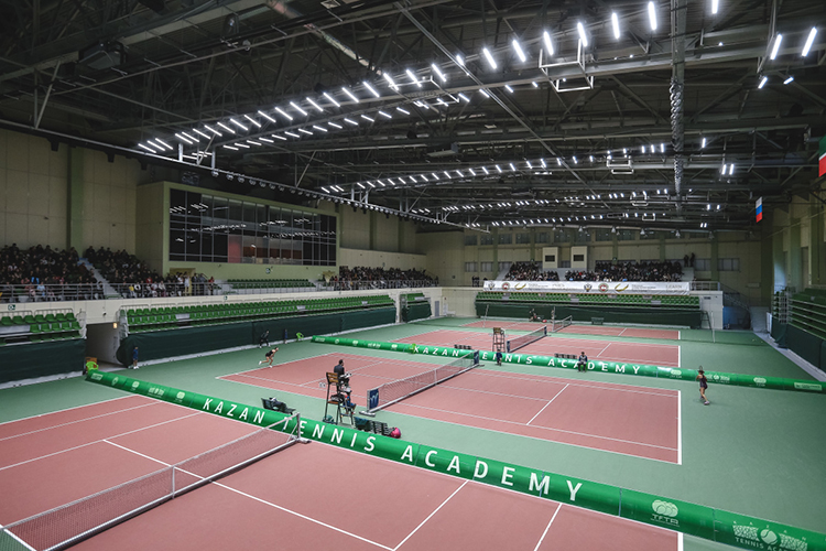 В следующем месяце корты Казанской академии тенниса примут Кубок Ельцина