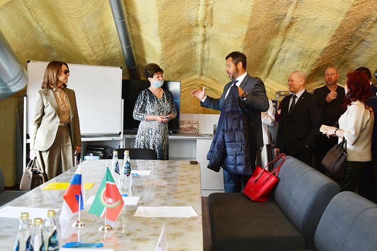Альфия Когогина встретилась с предпринимателями Челнов