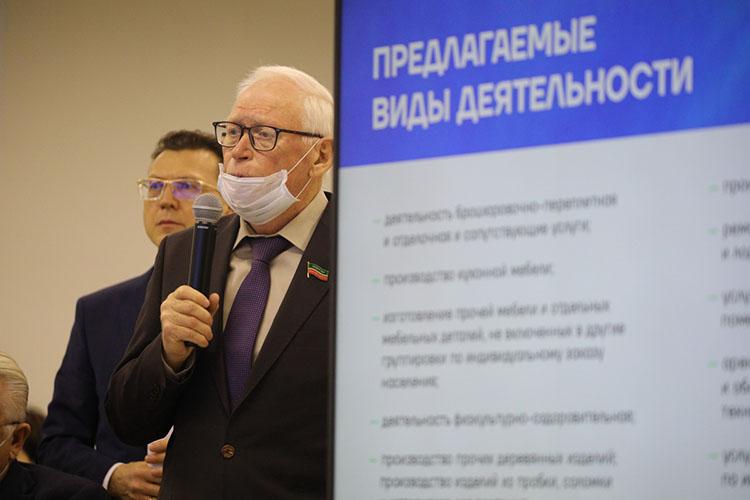 «Налог должен снизиться доуровня ЕНВД, наэтот раз мышли отобратного»,— пояснилЛеонид Якунин