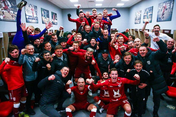 «Мы смотрим только вперед и уверены, что «Рубин» от сезона к сезону будет становиться сильнее, а на нашем стадионе вновь прозвучит гимн Лиги Чемпионов!»