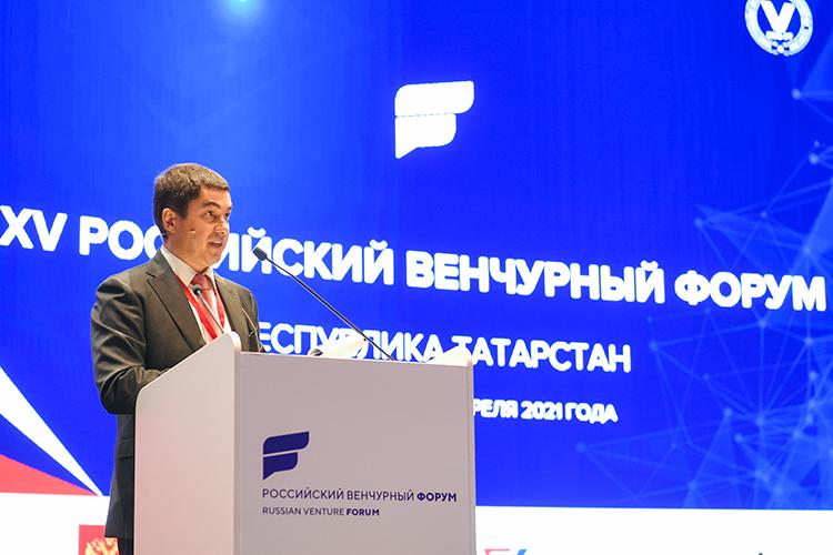 Айнур Айдельдинов:«Как существенно увеличить число российских компаний, конкурентноспособных намировом рынке? Какие технологии лежат восновании рынков будущего? Какой должна быть роль бизнеса вновых условиях?»