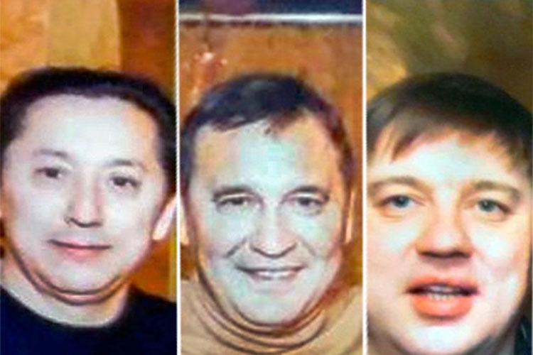 Слева напрово: Геннадий Кирилов, Наиль Шайхутдинов и Альфред Гильмутдинов