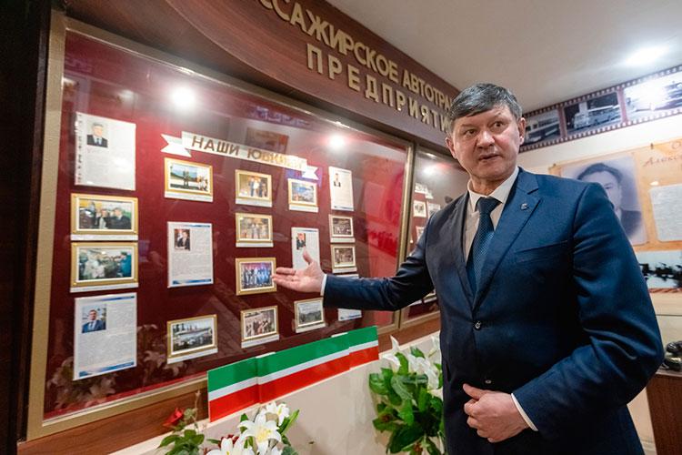 «Наше предприятие — одно из самых крупных и старейших перевозчиков Татарстана. Мы обслуживаем 23 городских маршрута. В этом году предприятие отмечает свое 45-летие»
