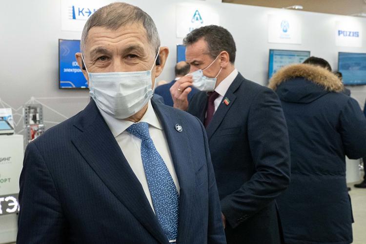 Директор ГБУ«Безопасность дорожного движения»Рифкат Минниханов