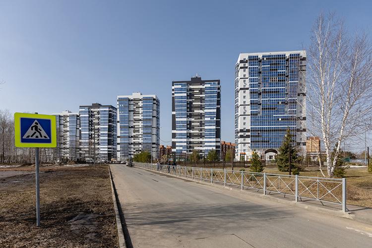 Освоение одного изсамых крупных вбудущем жилых микрорайонов РТ— «Лаишевского узла» внаправлении Казань— Боровое Матюшино— находится вактивной фазе