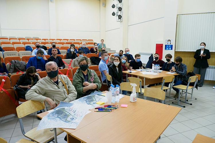 Накануне вечером вактовом зале КНИТУ жители Казани обсудили техническое задание напроектирование Спортивного парка. Онстанет частью принятой впрошлом году стратегии развития прибрежной зоны Казанки