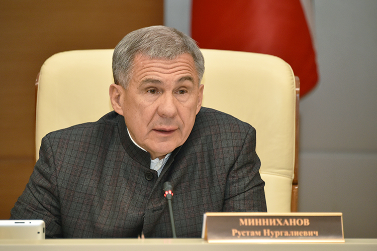 Рустам Минниханов: «Бюджет натекущий год сформирован созначительным дефицитом. Нужно обеспечить жесткую финансовую дисциплину, атакже абсолютное исполнение первоочередных исоциальных обязательств»