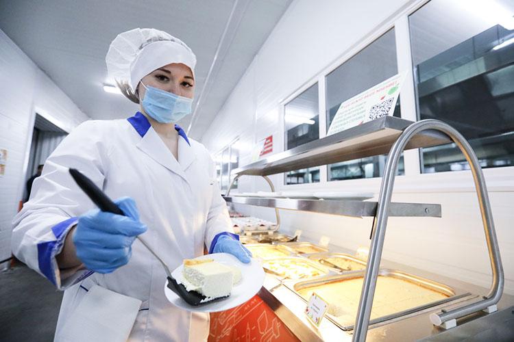 Департамент городского питания тоже нестоит наместе, постоянно обновляет свои мощности, работает над качеством блюд
