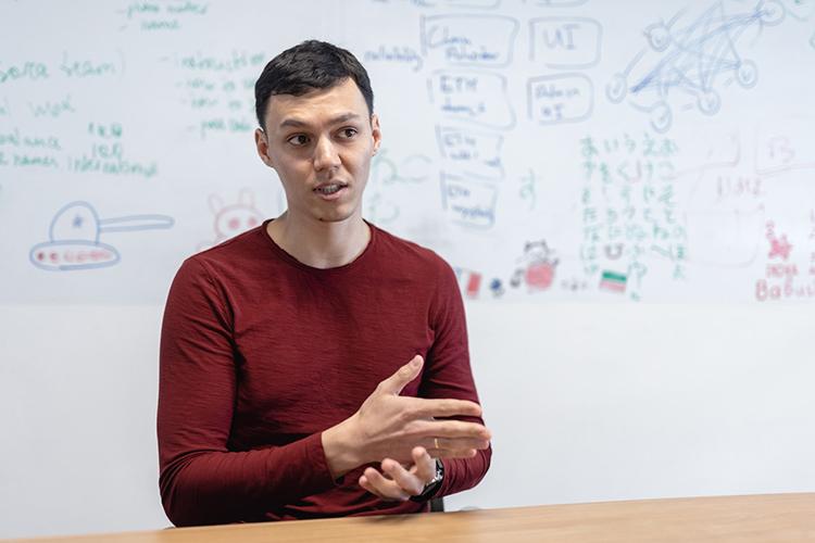 Камиль Салахиев: «В2017 году, когда ябыл напоследнем курсе университета, руководство Soramitsu решило открыть здесь представительство, итак сложилось, что выбрали меня руководителем»
