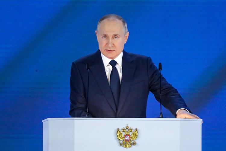 Главнойновостью посланиядля Татарстана сталозаявление Путина поповоду автобана Москва-Казань
