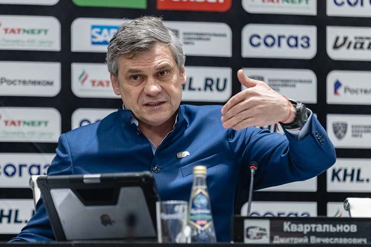 Дмитрий Квартальнов:«Как говорится, все, что неделается–делает нас сильнее»