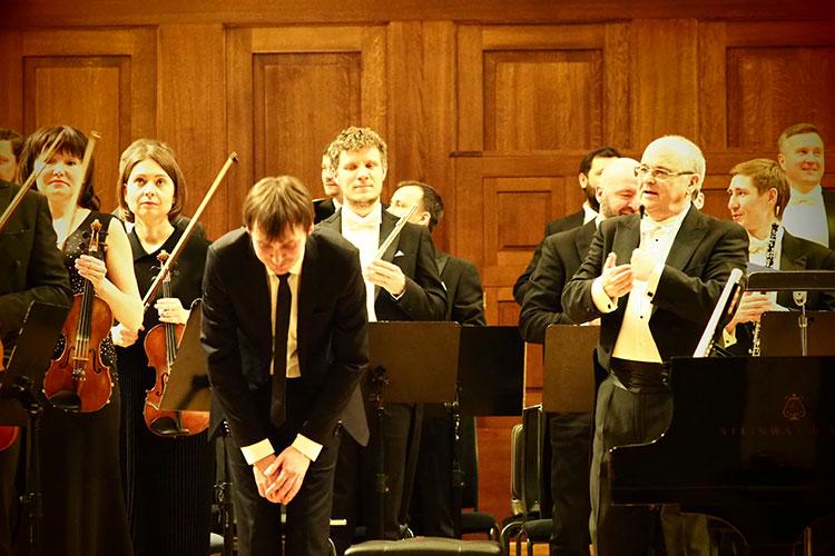 Вовтором отделении концерта прозвучала мировая премьера симфонии №23 Слонимского.