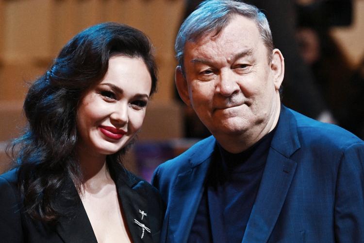 Аида Гарифуллина и генеральный директор Государственного академического Большого театра Владимир Урин