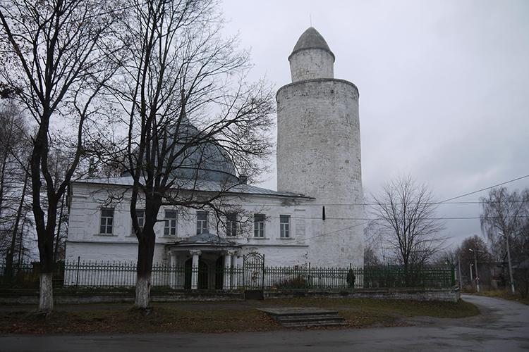 Ханская мечеть г. Касимова. Ноябрь 2020 г.