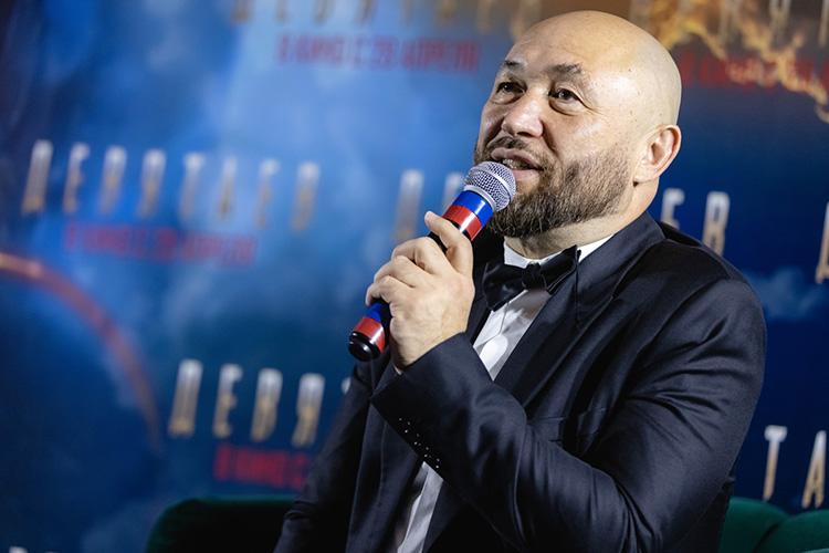 Тимур Бекмамбетов:«Янадеюсь, что этот фильм станет какой-то значительной вехой вистории кино Татарстана»