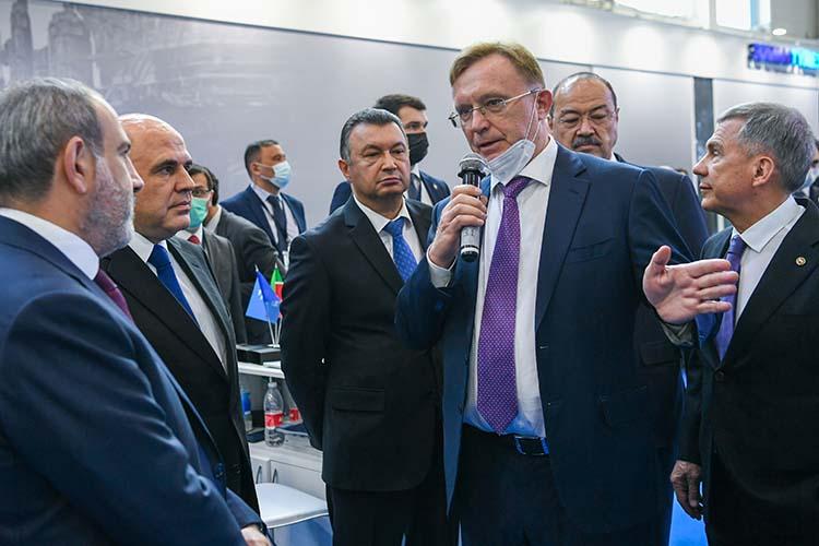 Технику челнинского автогиганта презентовал лично генеральный директор «КАМАЗа»Сергей Когогин