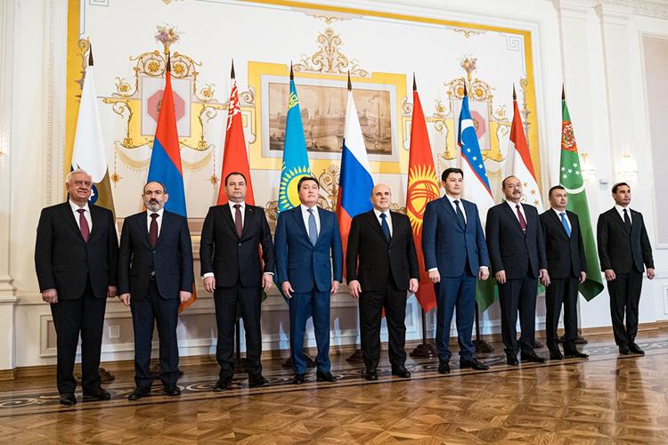 НаЕвразийский межправительственный совет вКазанисъехались премьер-министры Армении, Белоруссии, Казахстана, Киргизии, авкачестве гостей присутствовали премьер-министр Таджикистана ивице-премьер Туркменистана