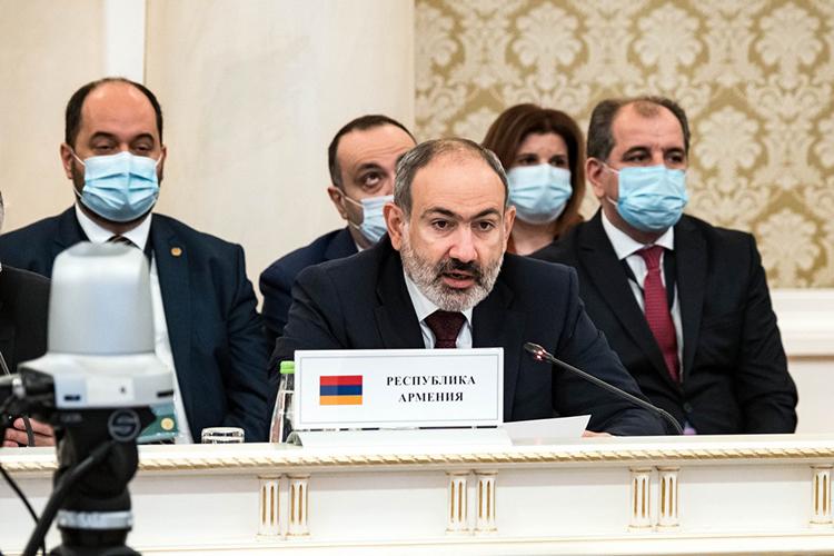 Никол Пашинян поблагодарил Мишустина за высокий уровень организации совета, а Минниханова — за «теплый прием»