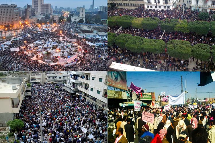 Так называемая «арабская весна» 2011–2013гг. подготавливалась западными структурами докризиса 2008 года, однако кризис резко активизировал подготовку зачистки элит-посредников эпохи Клинтона— Буша-младшего, эпохи «тучных коров»