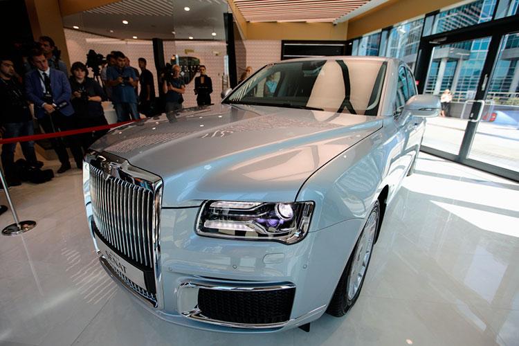 Исключительный случай — список редких и дорогих авто пополнил отечественный бренд, Aurus