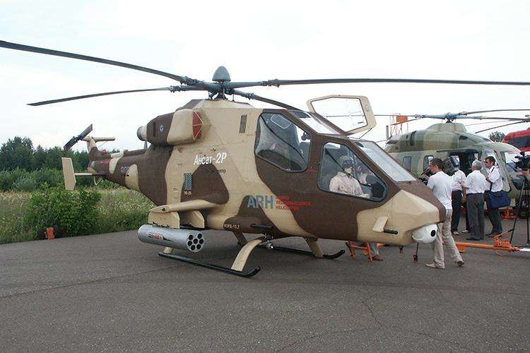 Ансат-2РЦ мог стать первым в России легким ударным вертолетом