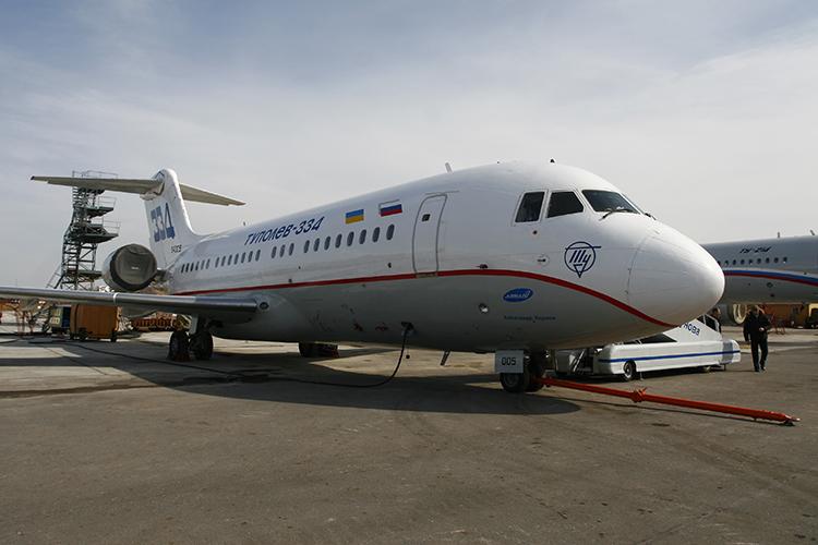 Ту-334 на Казанском авиазаводе