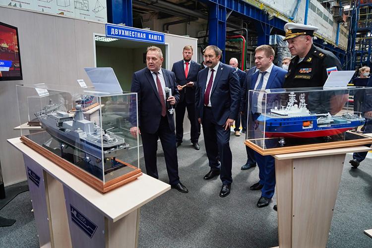 Что важно, «Чайка», универсальный десантный корабль, судно обеспечения еще испроектированы вТатарстане— Зеленодольским проектно-конструкторским бюро