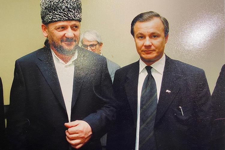 «В1995 году япознакомился сКадыровым. Мыбыли друзьями»