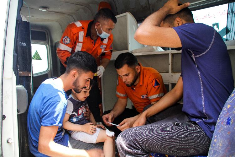«Очень тяжело пришлось нашим братьям, живущим вИерусалиме. Втовремя, когда они молились вмечети [Аль-Акса], наних совершили нападение. Подвергли осквернению одну изсвятынь мусульман»