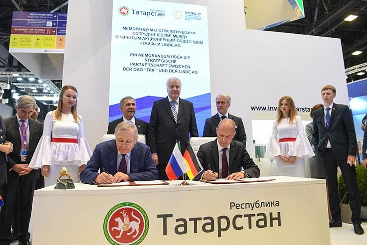 Новое производство мощностью 600 тыс. т в год (ЭП-600) строится по контракту с немецкой компанией Linde. Контракт на 868 млн евро подписали в 2017 году