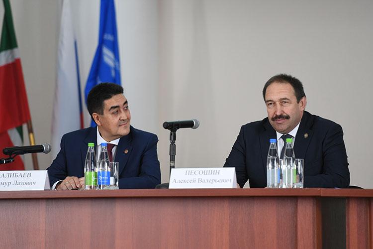 Считается, что главный сторонник назначения Алибаева в КАИ — премьер РТ Песошин