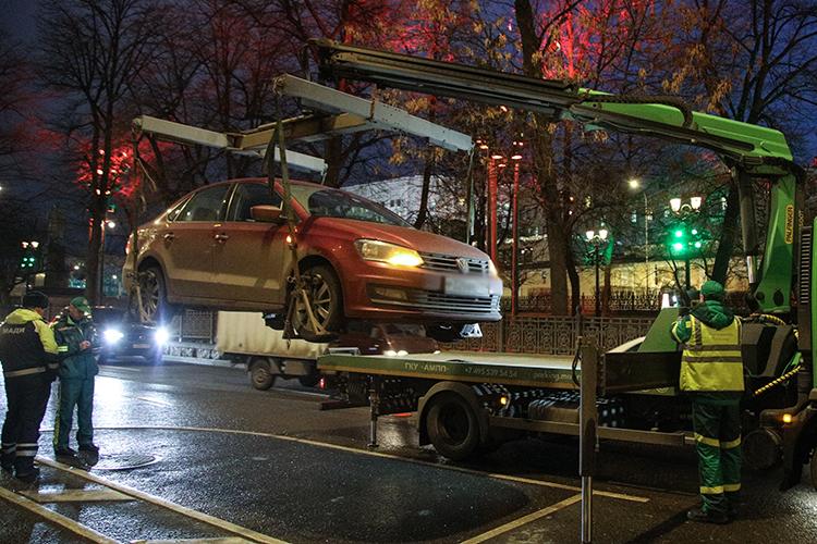 «Сноября прошлого года эвакуация ихранение автотранспортных средств тоже стали нашей функцией»