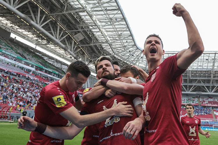 «Рубин» финишировал начетвёртом месте ивышел вовторой квалификационный раунд Лиги конференций— нового еврокубка, который будет разыгран только соследующего сезона