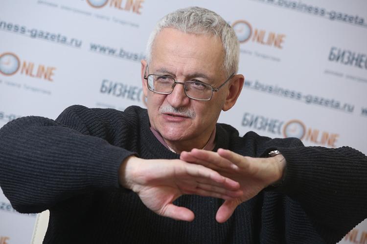 Михаил Блинкин:«Яискренне непонимаю, зачем нам вэто ввязываться, для России использование газового топлива ввопросе экологических преимуществ гораздо интереснее, чем электромобиль»