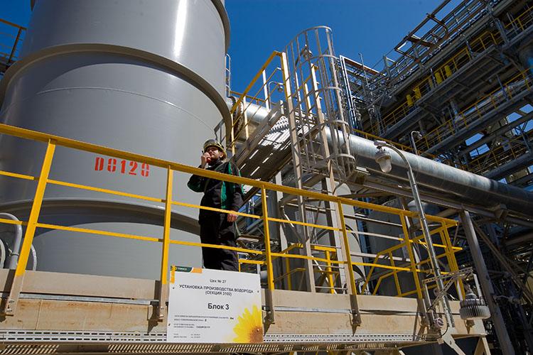 «На ТАНЕКО это третья установка водорода, уже работают две — мощностью в 100 и 22 тысяч тонн»