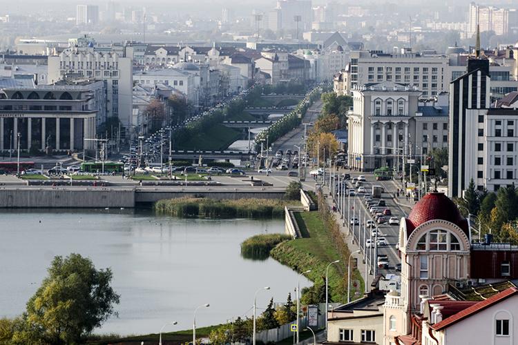 «Казань, благодаря нефти, впоследние годы очень сильно расцвела вотличие отмногих других городов»