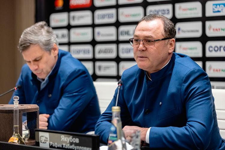 Накануне генеральному менеджеру «АкБарса» Рафику Якубову сообщили обувольнении изклуба. Вэтом качестве легенда татарстанского хоккея работал вклубе с2017 года