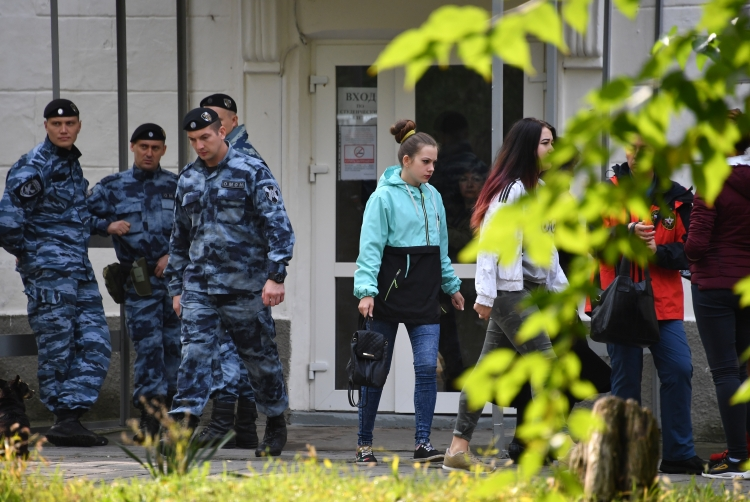 17октября 2018 года 18-летнийВладислав Росляковустроил бойню вполитехническом колледже вКерчи. Жертвами трагедии стали 20 человек, еще 67 пострадали
