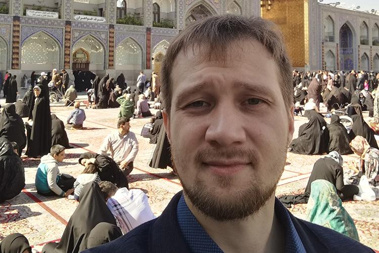 Всвятых шиитских местах Ирана