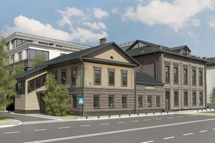 Наул.Бутлерова, 20 одобрили реконструкцию двухэтажного полукаменного дома— средового памятника архитектуры сновым 4-этажным многоквартирным пристроем. Первый этаж— под коммерцию